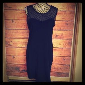 Forever 21+ black bodycon dress size 2x